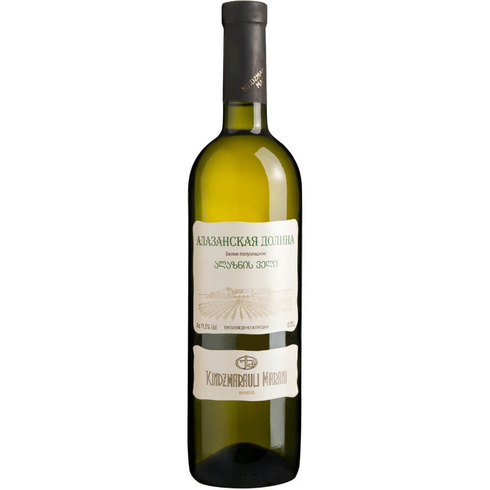 Вино Kindzmarauli Marani Alazani Valley White