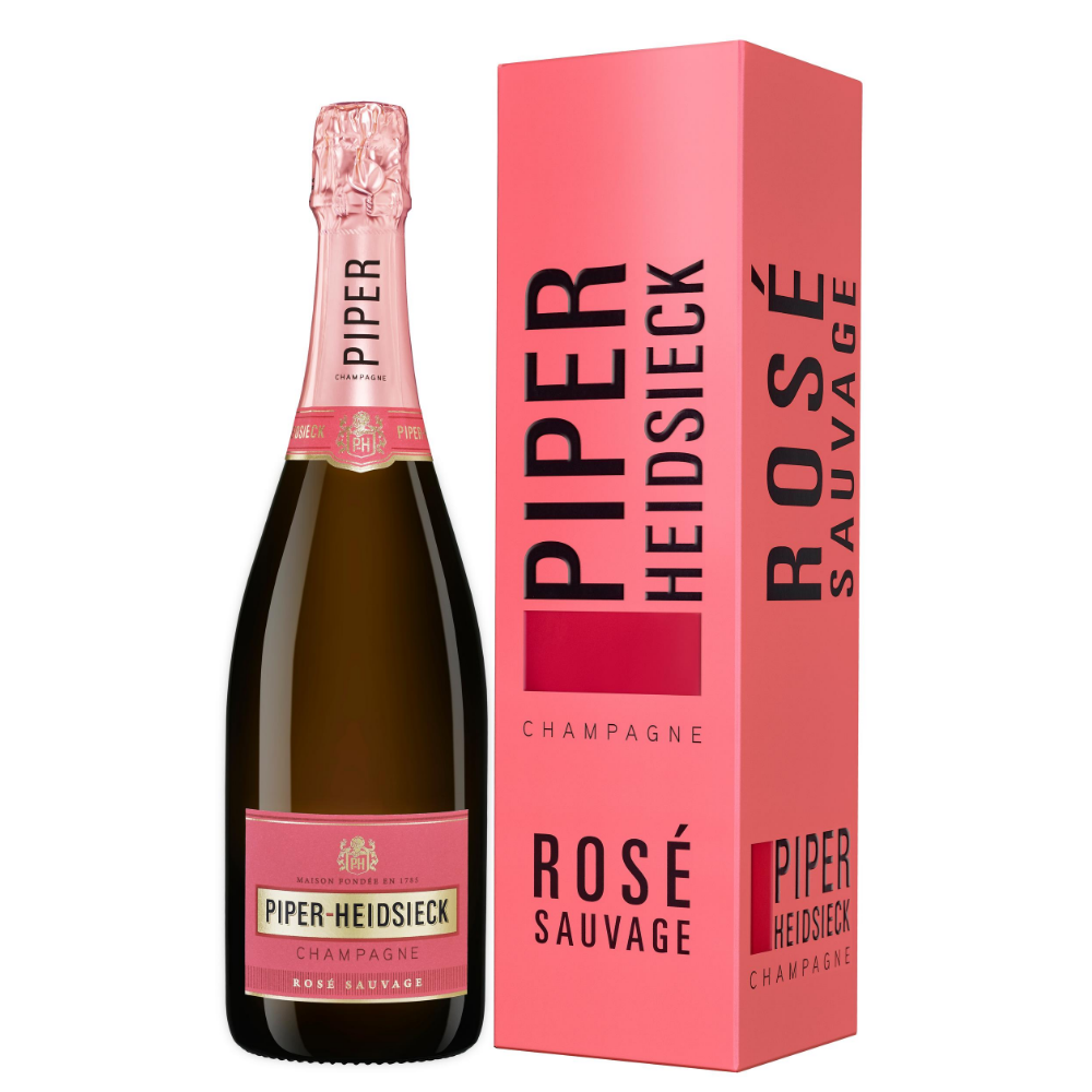 "Шампанское Piper-Heidsieck Rose Sauvage (gift box ""Special Edition"")"