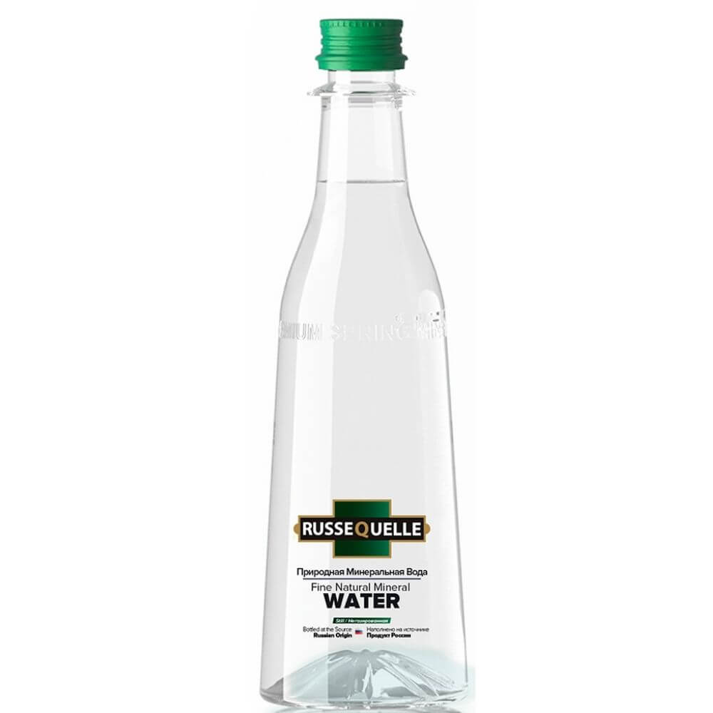 Spring mineral water RusseQuelle (still, PET, 400 ml)